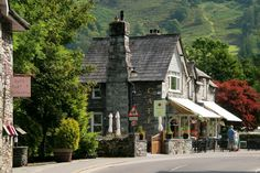 Grasmere Village in Cumbria, Cumbria Moon Over Water, England And Scotland, Grand Tour, North Yorkshire, Travel Memories, Cumbria, Lake District, Commonwealth, Best Cities