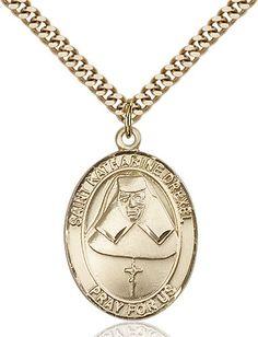 St. Katharine Drexel Pendant (Gold Filled) by Bliss | Catholic Shopping .com