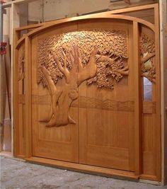 Doors and Windows -- Hand Carved Wood Doors