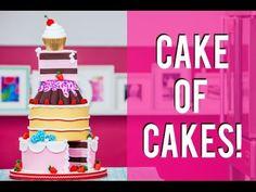 How To Make a PINK LEMONADE MEGA CAKE! BEYONCÉ inspired VISUAL CAKE filled with Lemon Curd! - YouTube