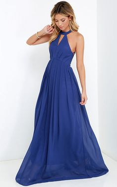 US$ –94.29 Cut Out Pleated Chiffon Dress. www.doriswedding..... Find the best bridesmaid dresses at DorisWedding. We have all styles & colors, such as purple, gold, red & lace, country and vintage. #DorisWedding.com