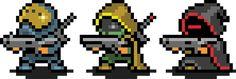 Bungie : News : Bungie Store Rises Again Marvel Cross Stitch, Cool Pixel Art, Pixel Characters, Pixel Design, Gear Art, Pixel Art Games, Retro Cartoons, Game Concept Art, Character Design