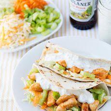 Buffalo Chicken Tacos VI Recipe