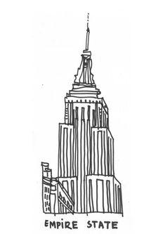 Illustration - The Empire State Building - James Gulliver Hancock