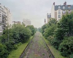 The railway in question is called La Petite Ceinture, and it has surrounded a piece of Paris since Unused since nature has come a long way in reclaiming this railroad, and its this reclamation that you see in Pierre Folk's series By the Silent Line. Derelict Buildings, Abandoned Houses, Abandoned Places, Abandoned Property, Abandoned Train Station, Amiens, Ville France, Scary Places, Chapelle