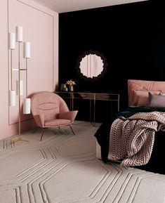 Cute Home Decor bedroom ideas Cute Home Decor Bedroom Color Schemes, Bedroom Colors, Interior Modern, Home Interior Design, Interior Ideas, Interior Shop, Interior Colors, Living Room Interior, Home Decor Bedroom