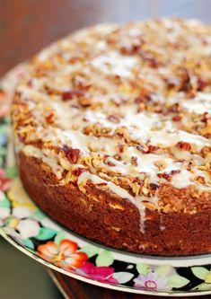 Pumpkin Coffee Cake with Oat Brown Sugar Streusel