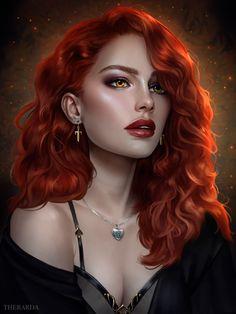 Fantasy Art Women, Beautiful Fantasy Art, Dark Fantasy Art, Fantasy Girl, Fantasy Artwork, Fantasy Princess, Digital Art Girl, Digital Portrait, Female Character Design