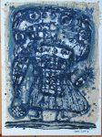 Akira Kilto Vintage Print – Original Lithograph 1964 Vintage Art Prints, Akira, The Originals