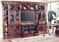 Huntington Large Bookcase Entertainment Center | Family Room | Pinterest |  Large Bookcase, Furniture Retailers And Dinette Sets