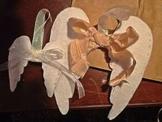 angel wing ornament craft | DIY fabric angel wings for every day. » angels r 4 u. grace 2. angels ...