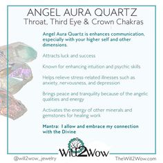 Crystal Healing with Angel Aqua Aura