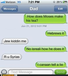this is hilarious. since i am jewish and all.