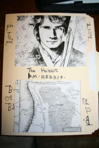 Hobbit Lapbook and more links from this site.