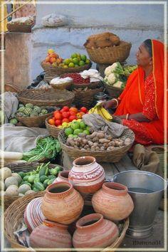 Market in Udaipur