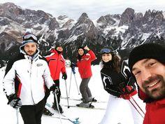 #sciatori esperti e non. Super #Dolomiti #superski #friend #sci #salti #pesche