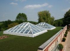 Howells Glazing are specialist supplier of full aluminium thermally broken Rooflights / Skylights and Lantern Rooflights.