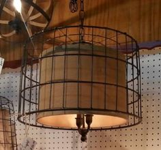 Check out this item in my Etsy shop https://www.etsy.com/listing/245839901/basket-and-burlap-chandelier