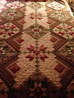 ❤ =^..^= ❤   Sew'n Wild Oaks Quilting Blog | Look at the quilting!