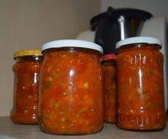 Sos warzywny do makaronu/mięsa na zimę by SandraKK on www.przepisownia.pl Polish Recipes, Pickles, Smoothies, Cooker, Frozen, Food And Drink, Cooking Recipes, Jar, Treats
