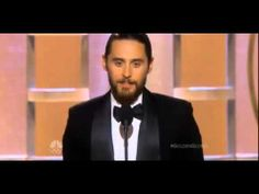 JARED LETO WINS GOLDEN GLOBE FOR BEST SUPORTING ACTOR IN A MOTION PICTURE