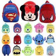 New cute kids #girls boys children baby toddler #backpack doll #schoolbag small b,  View more on the LINK: 	http://www.zeppy.io/product/gb/2/131845627078/