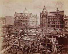der Bau der Kaiser-Wilhelm-Brücke (heute: Liebknechtbrücke) von Hermann Rückwardt, soll vom 22. Juni 1887 sein. Bauzeit Feb.1886 bis Herbst 1889.