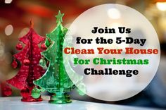 Join Me For the Clean Your House for Christmas Challenge. If your bedrooms are spotless and clutter-free, pick another area of your house that you've been putting off and tackle that today. Maybe the coat closet or the office or the storage room… er, maybe not the storage room unless you have a LOT of time and ambition!