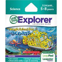 Walmart: LeapFrog Explorer Learning Game, The Magic School Bus Oceans