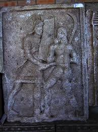 Metope Roman,fight between Dacian and Roman