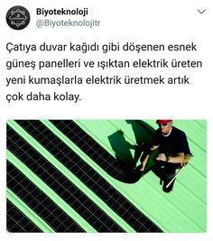 """(@biyoteknoloji): """"Esnek güneş panelleri son 5 yılda #Amerika ve #Avrupa'da hızla yaygınlaşarak güneş enerjisi…"""""""