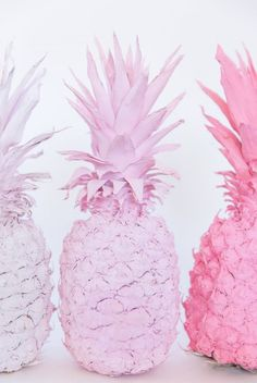 DIY Ombre Pink Spray Painted Pineapples   Best Friends For Frosting Pink Wallpaper, Wallpaper Backgrounds, Iphone Wallpaper, Pink Pineapple Wallpaper, Pineapple Backgrounds, Phone Backgrounds, Pink Spray Paint, Spray Painting, Pink Painting