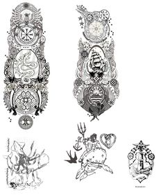 Full sleeves sailor tattoo designs by Kara-ALVAMA.deviantart.com on @deviantART