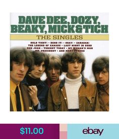 $11.0 - Dave Dee Dozy Beaky Mick & Tich - Singles [Cd] #ebay #Media Don Juan, S Man, Album Covers, Hold On, Memories, News, Ebay, Memoirs, Souvenirs