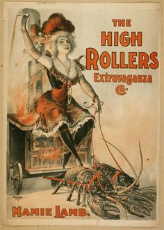 Mamie Lamb. The High Rollers Extravaganza Co.  Lithograph, c. 1899. Library of Congress Prints and Photographs Division