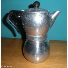 Vintage Retro La Signora Caffettiera Stove Top Espresso Maker, Italy (Auction ID: 145532, End Time : N/A) - FleaBids Auction House