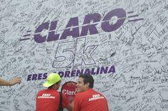 Carrera 5K Claro. Actividad para los participantes 2015