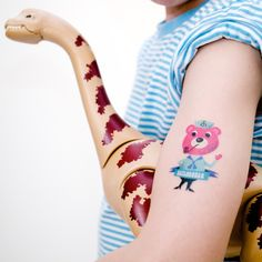 Sailorbear by Ingela P. Arrhenius - The Tattyoo tattoos applied on the skin