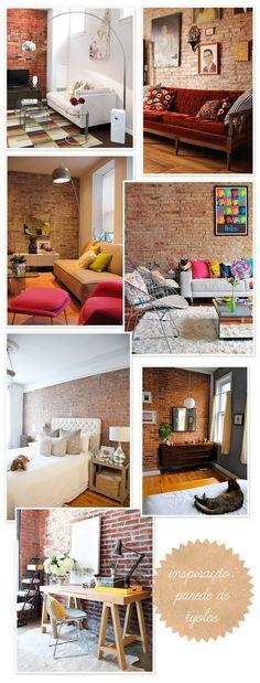 decor + brick wall