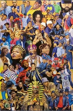The Art Of Hip Hop. #HipHopLegends