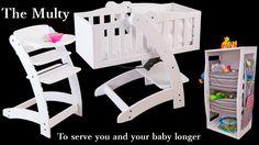 The Multy by NinnaNanna - Assembling as a Crib - Video