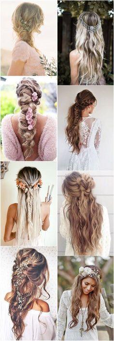 21 BOHO INSPIRED Unique and Creative Wedding Hairstyles #hairstyles #fashion #wedding #weddinghairstyles #weddinginspiration
