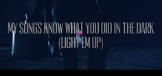 """VIDEO OF THE DAY: Fall Out Boy """"My Songs Know What You Did In The Dark (Light Em Up)"""""""