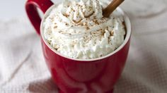 Bloggers Adam and Jo Gallagher from Inspired Taste share a recipe for homemade lattes. Our favorite fall coffee house drink at home—the pumpkin-spice latte.