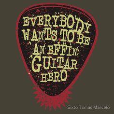 Guitar Hero Wannabe