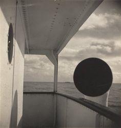 John Gutmann, Promenade Deck, M.S. Brimanger, Pacific Ocean, 1933