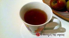 Τσάι ενεργειακό, αντιοξειδωτικό, καθαρίζει το αίμα, κατά της γρίπης, τονώνει το νευρικό σύστημα, νοστιμότατο.. Με έχει σώσει άπειρες φορές γιατί λόγω διαβάσματος χρειάζομαι την ενέργεια που προσφέρει. Τη συνταγή έφερε στο δυτικό κόσμο ο Yogi Bhajan. Chocolate Coffee, Chai, Mugs, Drinks, Tableware, Drinking, Beverages, Dinnerware, Tablewares