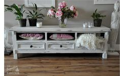 Carolyn - The Shabby Chic TV Unit from Imperfect Parlour at www.littlemajlis.com