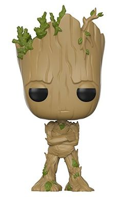 Avengers: Infinity War Teen Groot with Gun Pop! The entire Marvel movie universe unites, once and for all. Assemble your team in the race for the Infinity Stones! This Avengers: Infinity War Teen Groot with Gun Pop! Funko Pop Marvel, Marvel Avengers, Groot Avengers, Marvel Fan, Pop Action Figures, Funko Pop Figures, Pop Vinyl Figures, Marvel Infinity, Avengers Infinity War