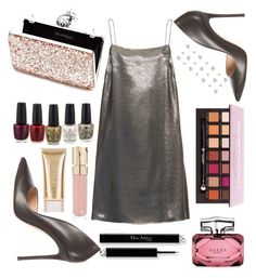 """""""Lizzy"""" by lozovaya-ekaterina on Polyvore featuring мода, Yves Saint Laurent, Gianvito Rossi, Miss Selfridge, Gucci, Smith & Cult и Jane Iredale"""